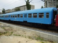 Series 21-47 second class car, made in Romania